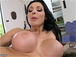 stellar steaming Aletta Ocean romps her fuckhole deeper with an epic plaything hard-on