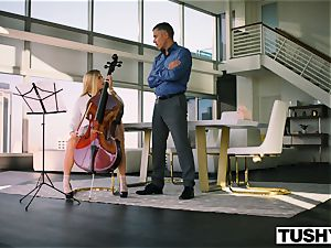 TUSHY Spoiled teenager is punished And Gaped By Music educator