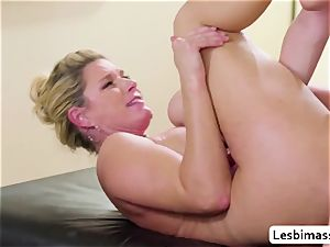 India Summer and Elsa Jean reach their best ejaculation ever