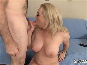blondie damsels ravaged and cum in her hatch