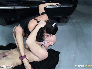 chesty Ariella Ferrera - Drive on my hard-on
