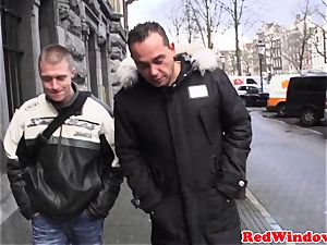 cockblowing amsterdam hooker nutted on