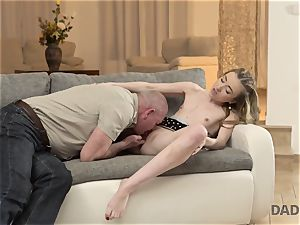 DADDY4K. fuck-a-thon of father and youthfull girl completes with sudden internal cumshot
