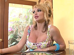 cheating hubby observes Taylor Wane take a bbc