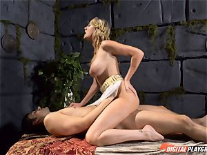 Brett Rossi knows how to heal an impatient man-meat