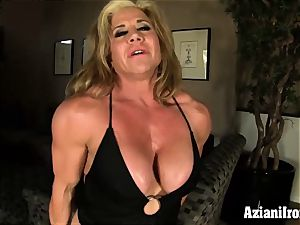fitness models dildo Vs sybian saddle who does it nicer