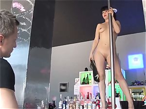 LA COCHONNE - horny group sex with lusty French babe