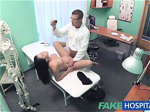 FakeHospital medic investigates uber-cute sizzling super-sexy patient