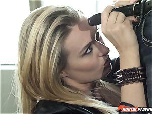 Natalia Starr pummels her prospective manager