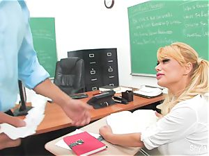 Bad student Shyla gets banged by her teacher