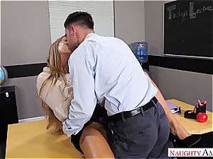 The finest educator Nicole Aniston wants man rod for her blessing