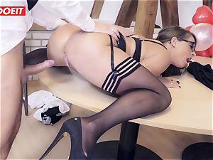 LETSDOEIT - Valentine's Day Spent In scorching pummel At Office